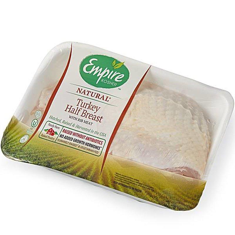 Empire Fresh Turkey Breast Half Kosher Poultry 1 Lb Instacart