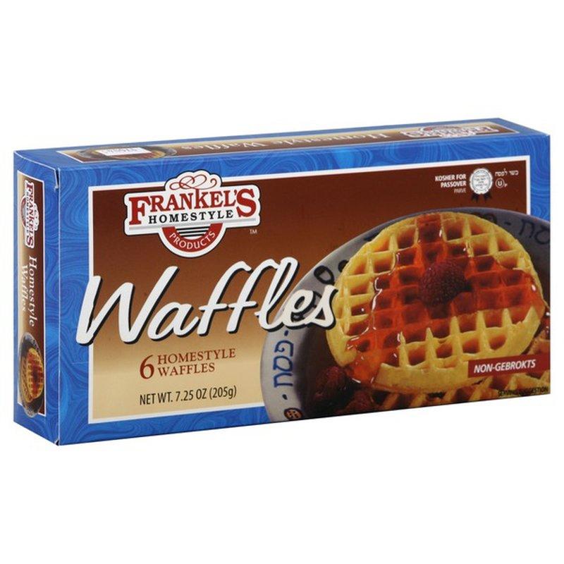 Frankel's Homestyle Waffles