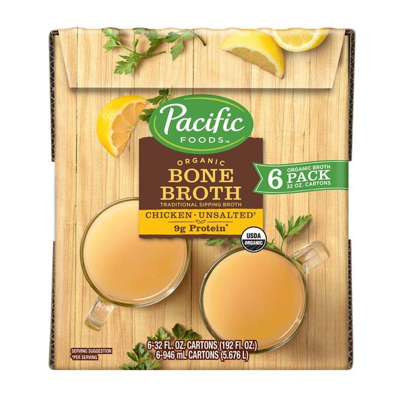 Pacific Natural Organic Chicken Bone Broth