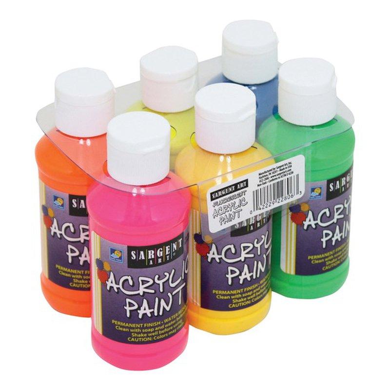 Sargent Art Acrylic Paint Set Neon
