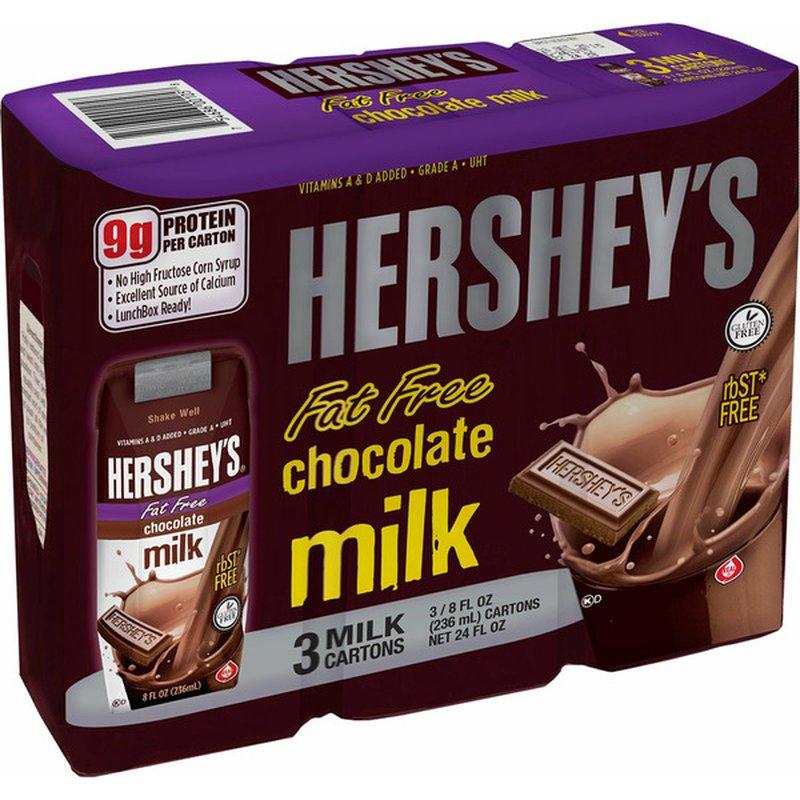 Hershey Fat Free Chocolate Milk
