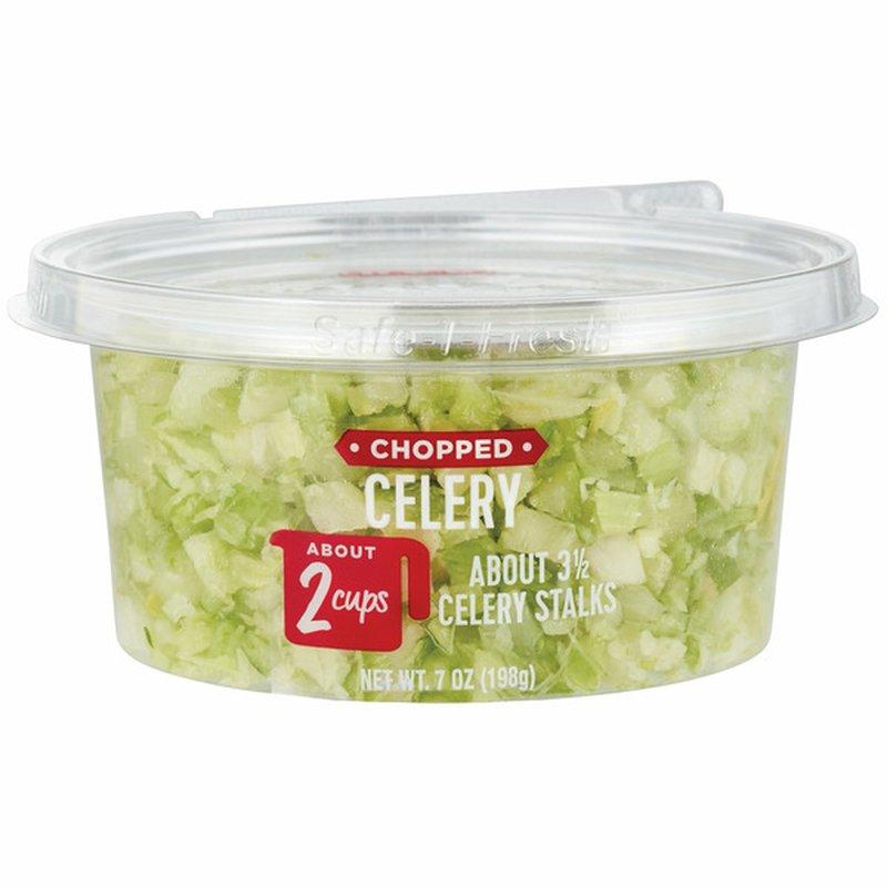 H-E-B Chopped Celery Ready, Fresh, Go!