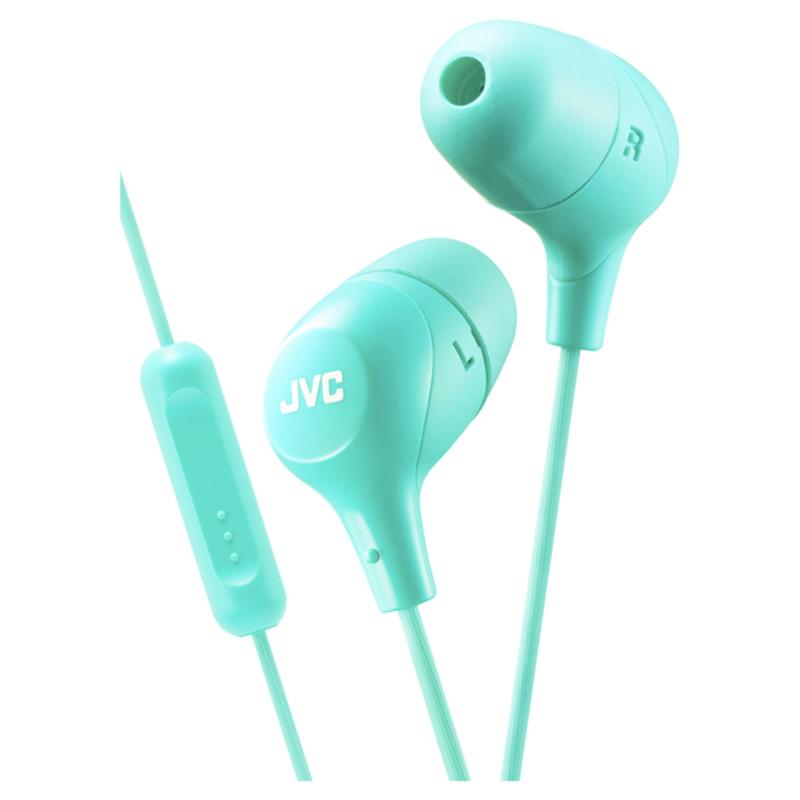 JVC Green Marshmallow Ha-fx38g Headphones