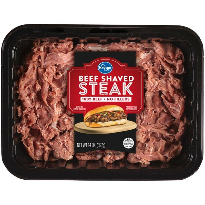 Kroger Beef Shaved Steak