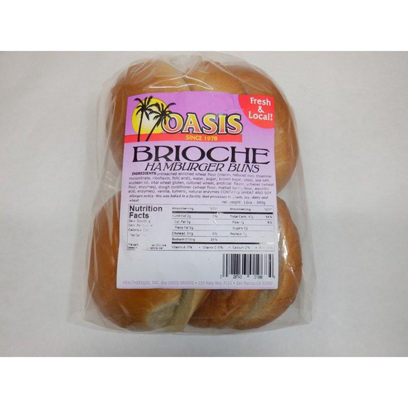 Oasis Brioche Hamburger
