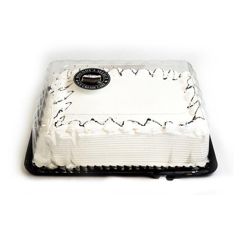 Roundy's Vanilla Ice Cream Cake