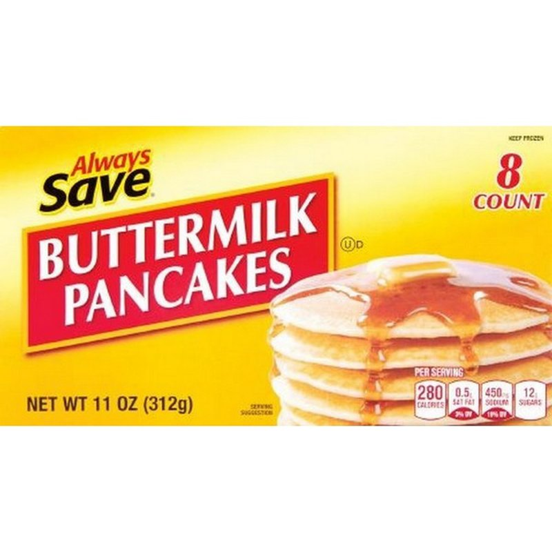 Always Save Buttermilk Pancakes