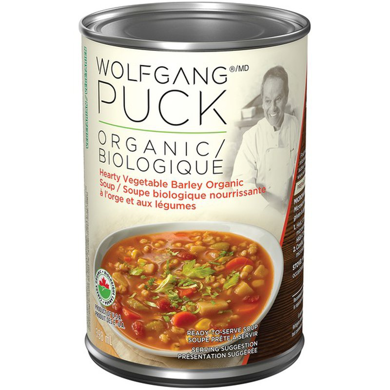 Wolfgang Puck Organic Hearty Vegetable Barley Organic Soup ...