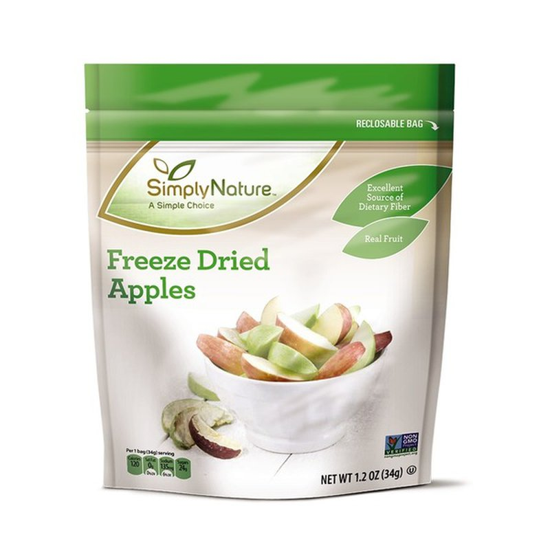 Simply Nature Apple Freeze Dried Fruit
