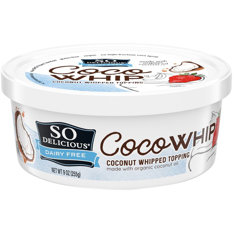 So Delicious Dairy Free CocoWhip Coconut Whipped Topping (9 oz) - Instacart