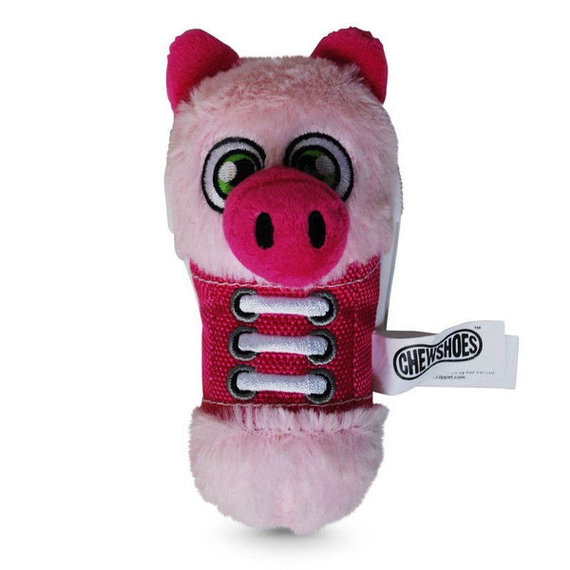 R2P Pet Small Pig Chew Shoes Dog Toy