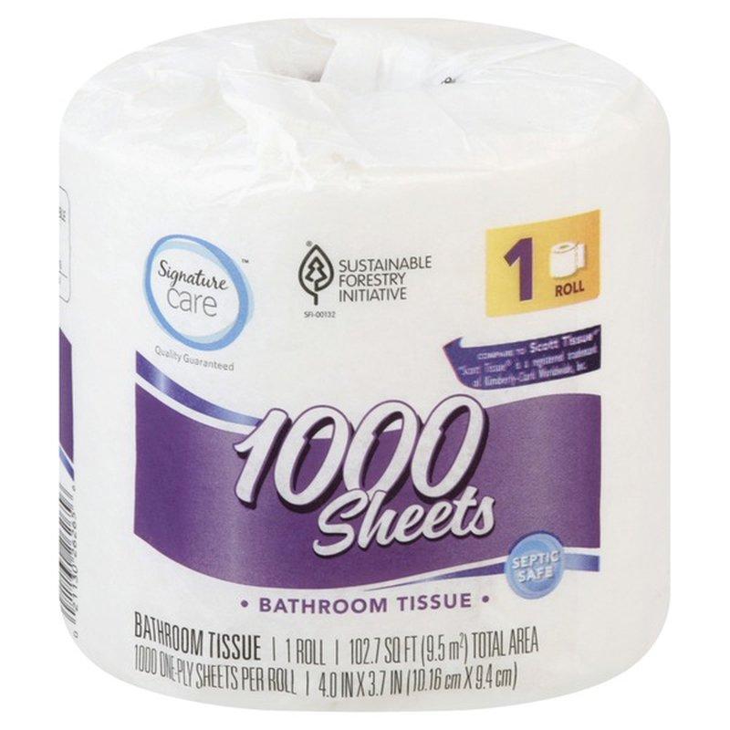 Signature Select Bathroom Tissue Roll
