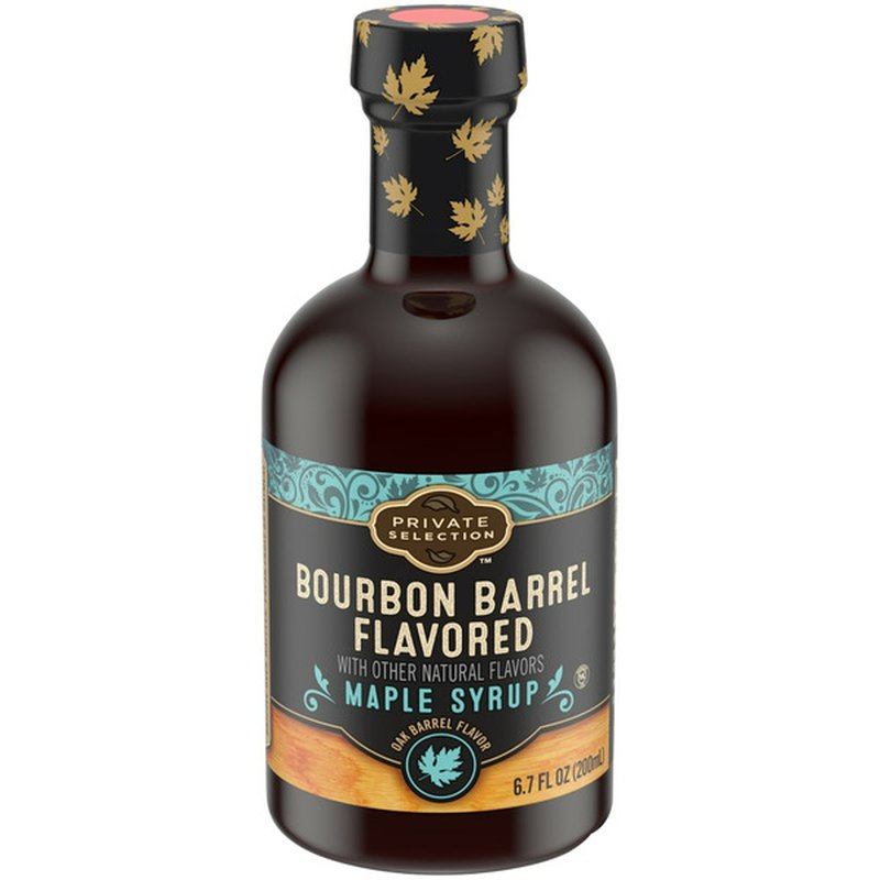 Private Selection Bourbon Barrel Flavored Maple Syrup
