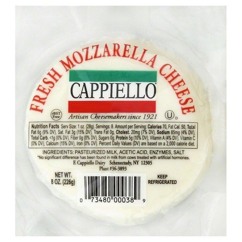 Cappiello Mozzarella Cheese