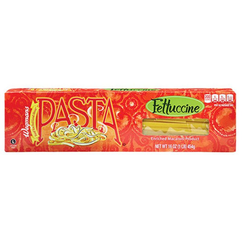 Wegmans Enriched Macaroni Product, Fettuccine Pasta