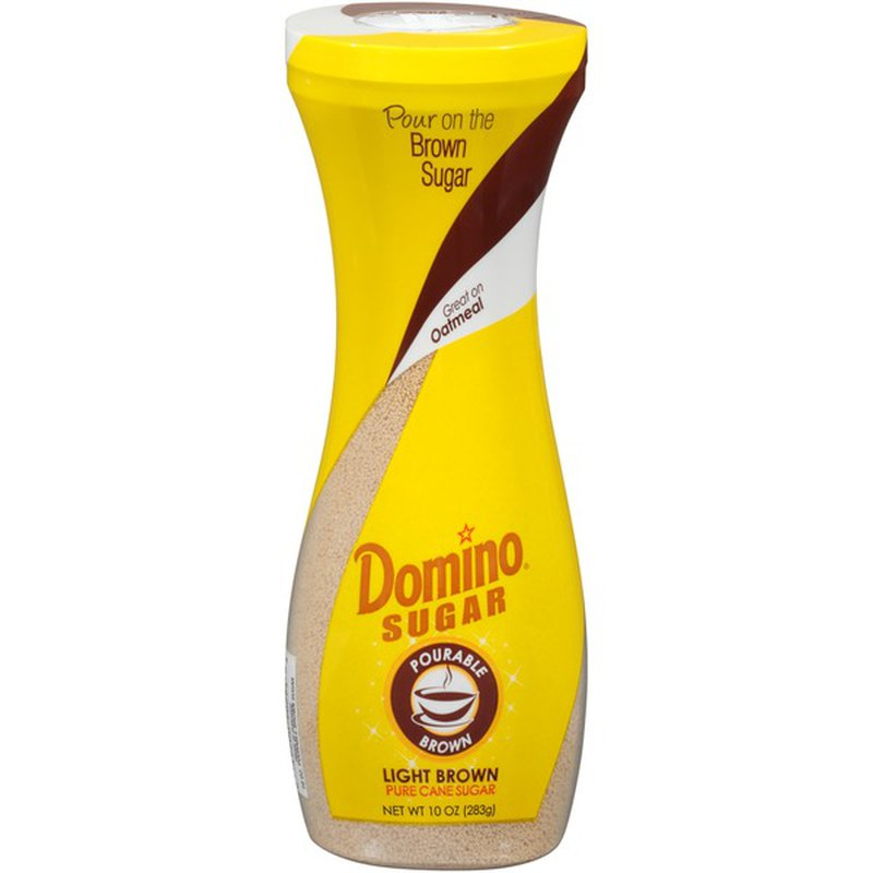 Domino Sugar Pourable Brown Light Brown (10 oz) from ...