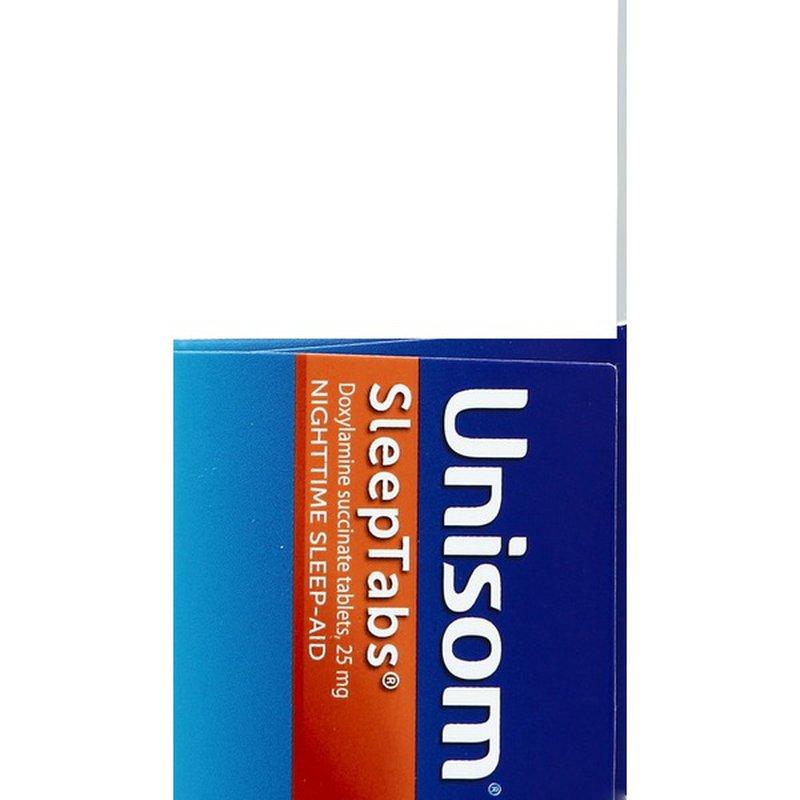 Unisom Nighttime Sleep-Aid, 25 mg, Tablets (32 ct) from ...