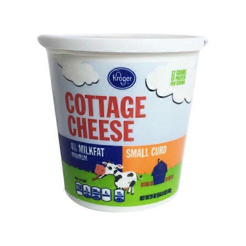 Kroger 4 Cottage Cheese Nutrition Facts | Besto Blog