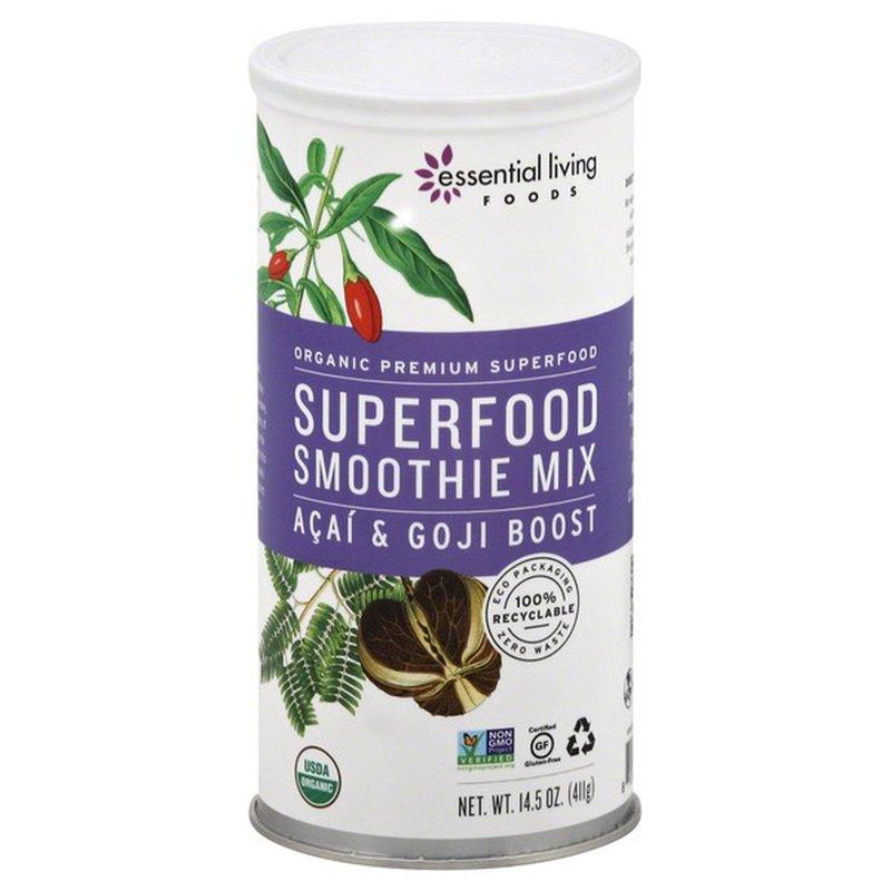 Essential Living Foods Superfood Smoothie Mix Acai & Goji Boost