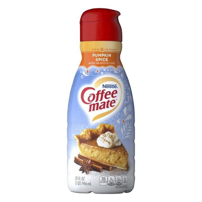 Nestlé Coffee Mate Pumpkin Spice Liquid Coffee Creamer