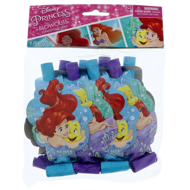 American Greetings Disney Princess Ariel Dream Big Blow-outs