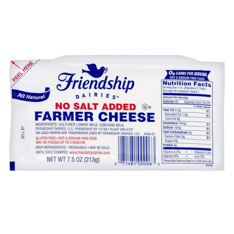 Friendship Dairies Farmer Cheese