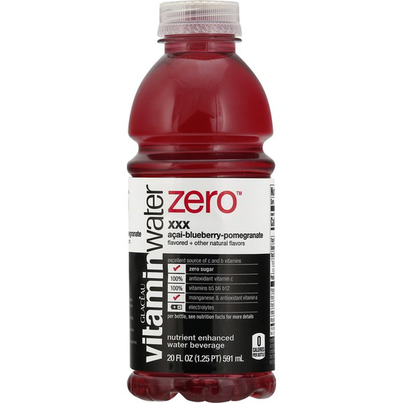 vitaminwater XXX, Acai Blueberry Pomegranate, 20 Fl Oz, 1