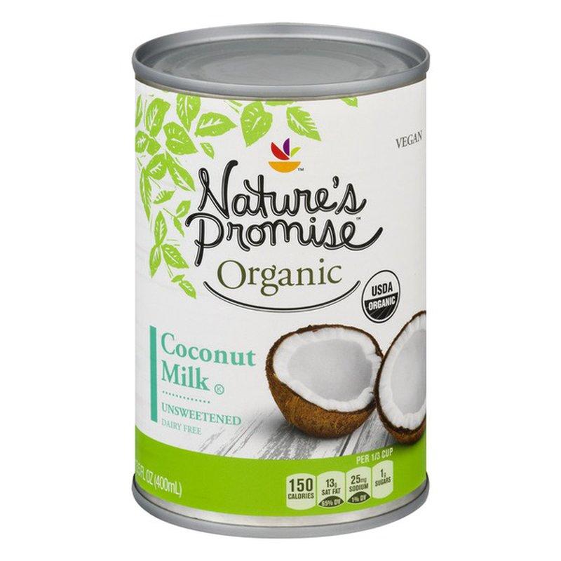 Nature's Promise Coconut Milk, Unsweetened