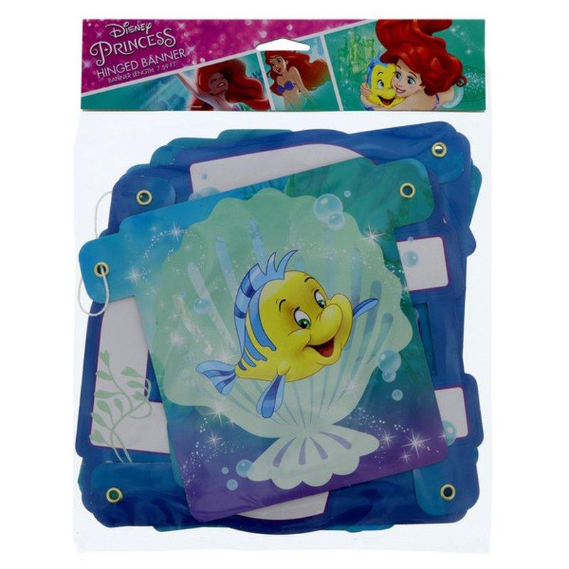 American Greetings Disney Princess Ariel Dream Big Hinged Banner