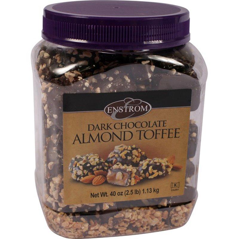 Enstrom Dark Chocolate Almond Toffee