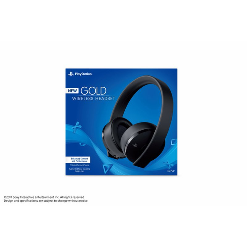 Sony Gold Wireless Stereo Headset for Playstation 4 & 3
