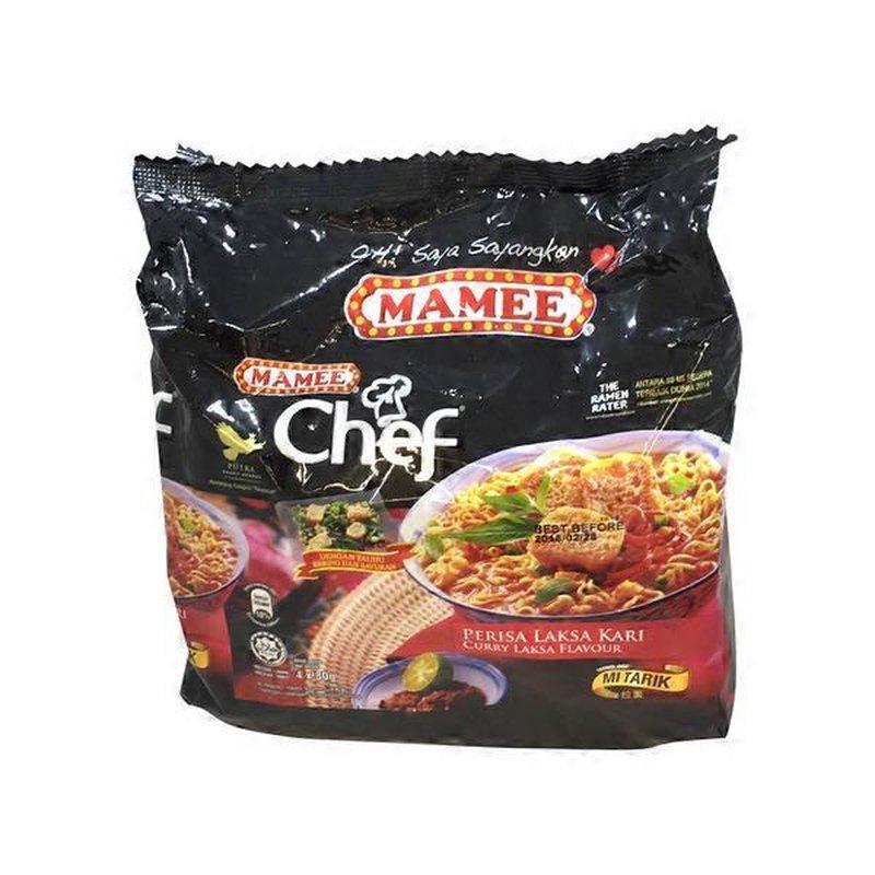 Chef Curry Laksa Flavour Ramen Instant Noodles