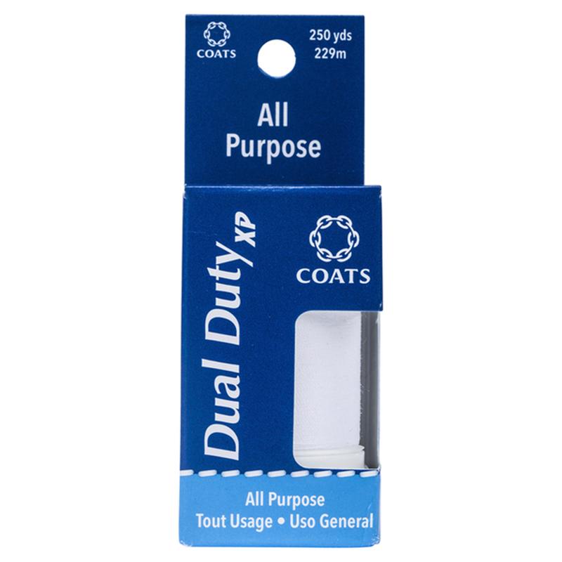 Coats White Dual Duty XP All Purpose Thread