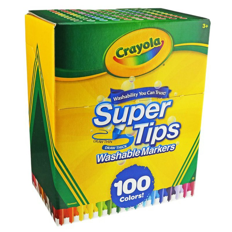 Crayola Washable Supertips Markers