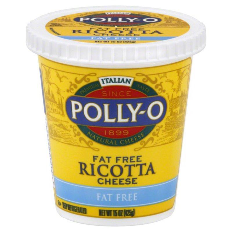 pollyo fat free ricotta cheese 15 oz  instacart
