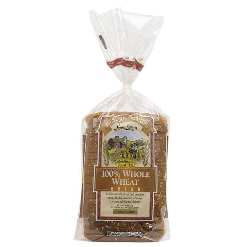 Van De Kamp's Western Hearth 100% Whole Wheat Bread