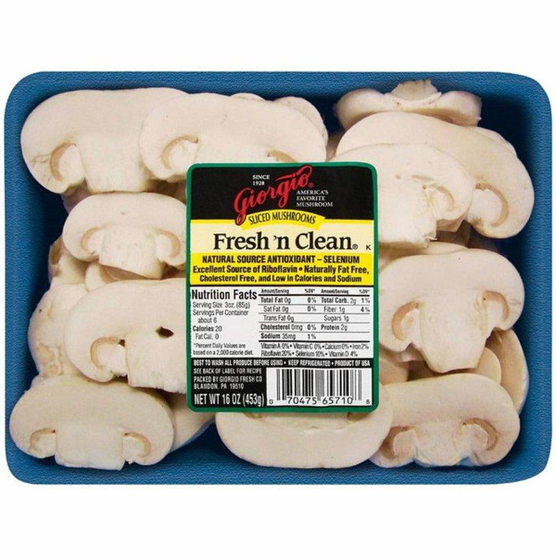 Monterey Sliced White Mushrooms