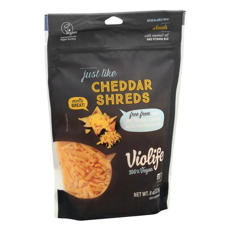Violife Cheddar Shreds, 100% Vegan