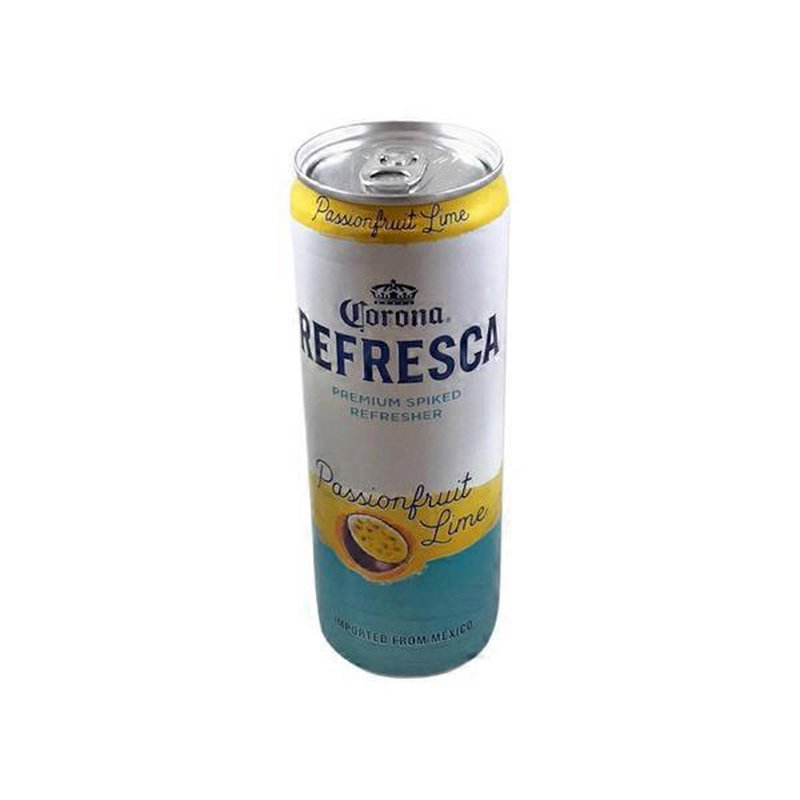 Corona Refresca Premium Passionfruit Lime Spiked Refresher 12 Fl Oz Instacart
