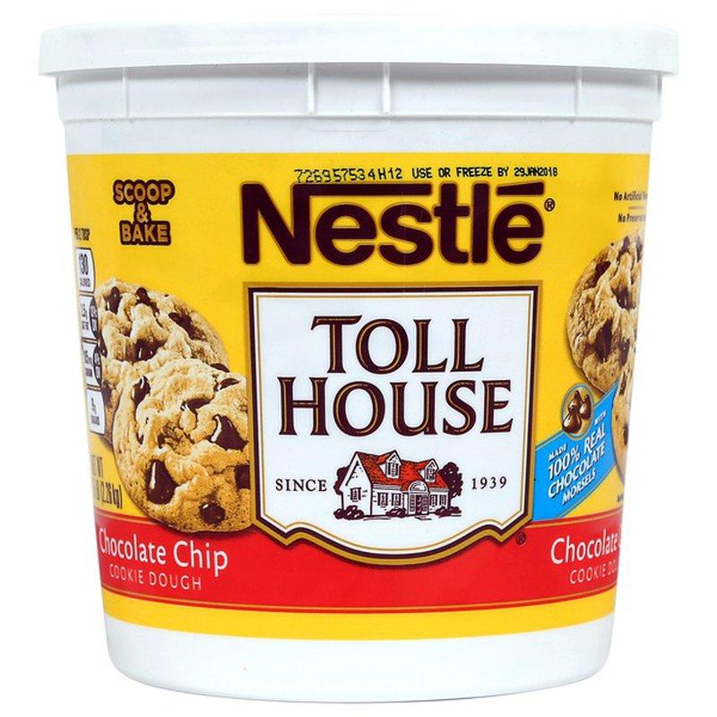 Nestle Tollhouse Cookie Dough Tub, 5 lbs