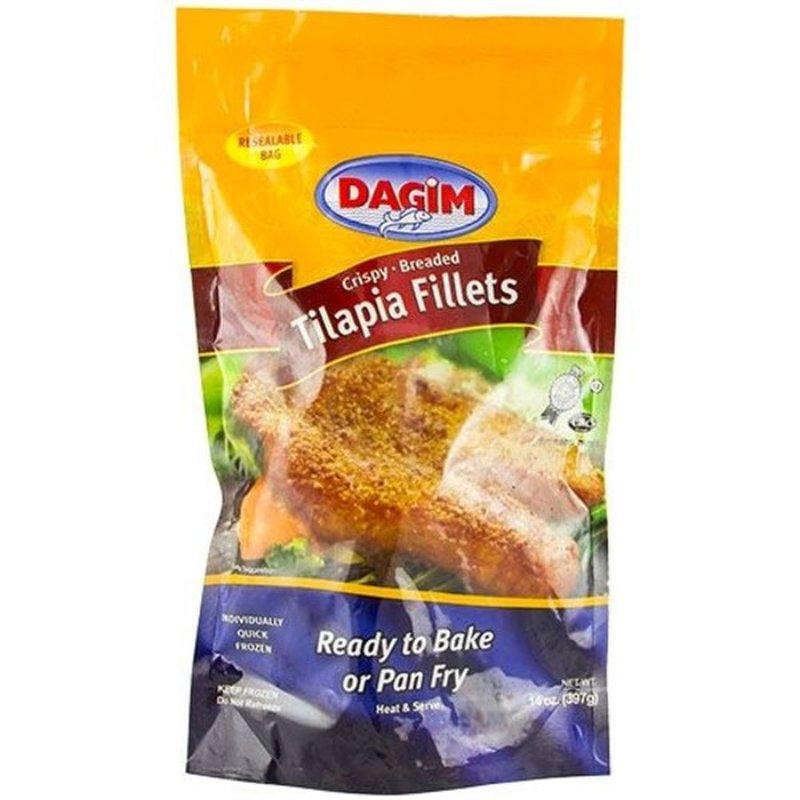 Dagim Crispy Breaded Tilapia Fillets