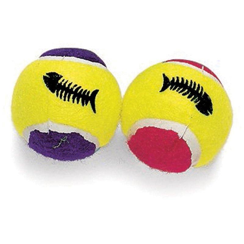 SPOT Mini Catnip Tennis Balls Toy