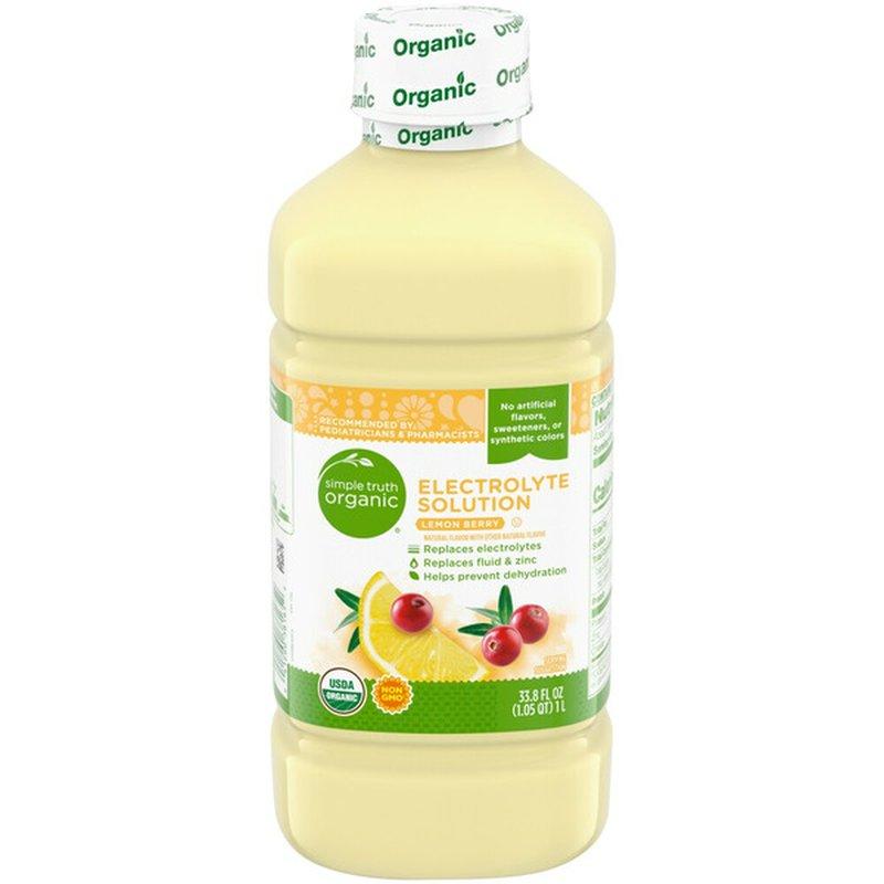 Simple Truth Organic Lemon Berry Electrolyte Solution