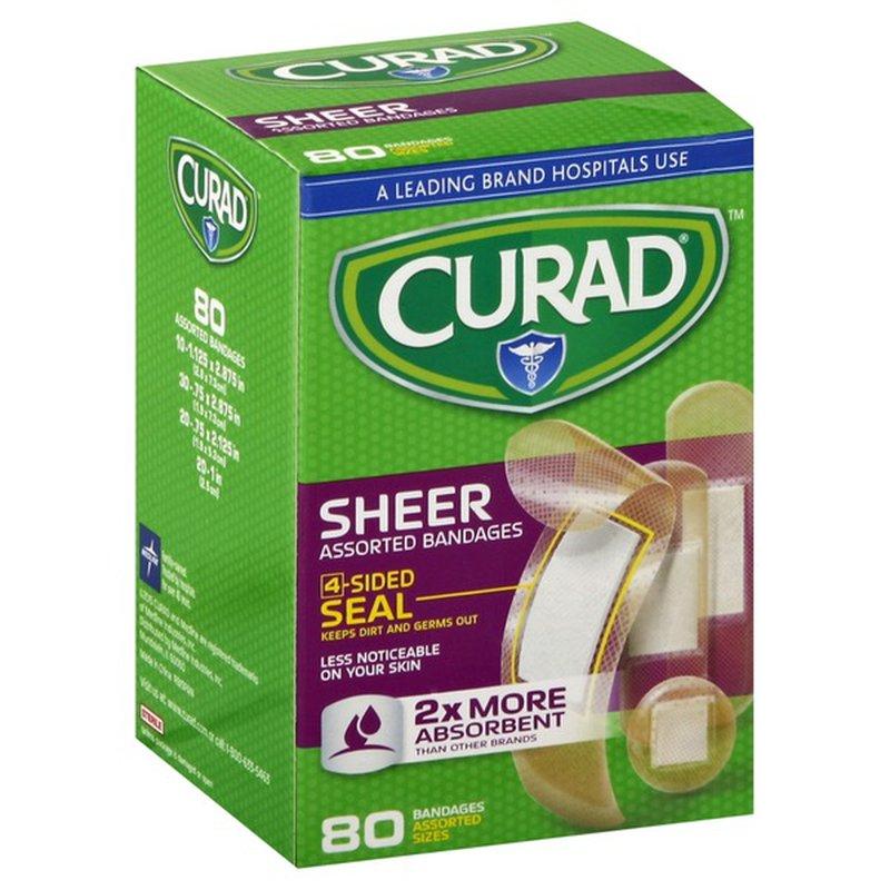 CURAD Assorted Sheer Bandages