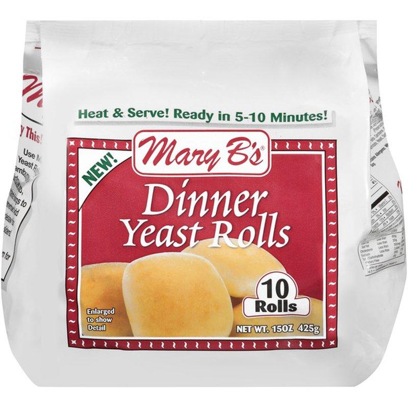 Mary B S Dinner Yeast Rolls 15 Oz Instacart
