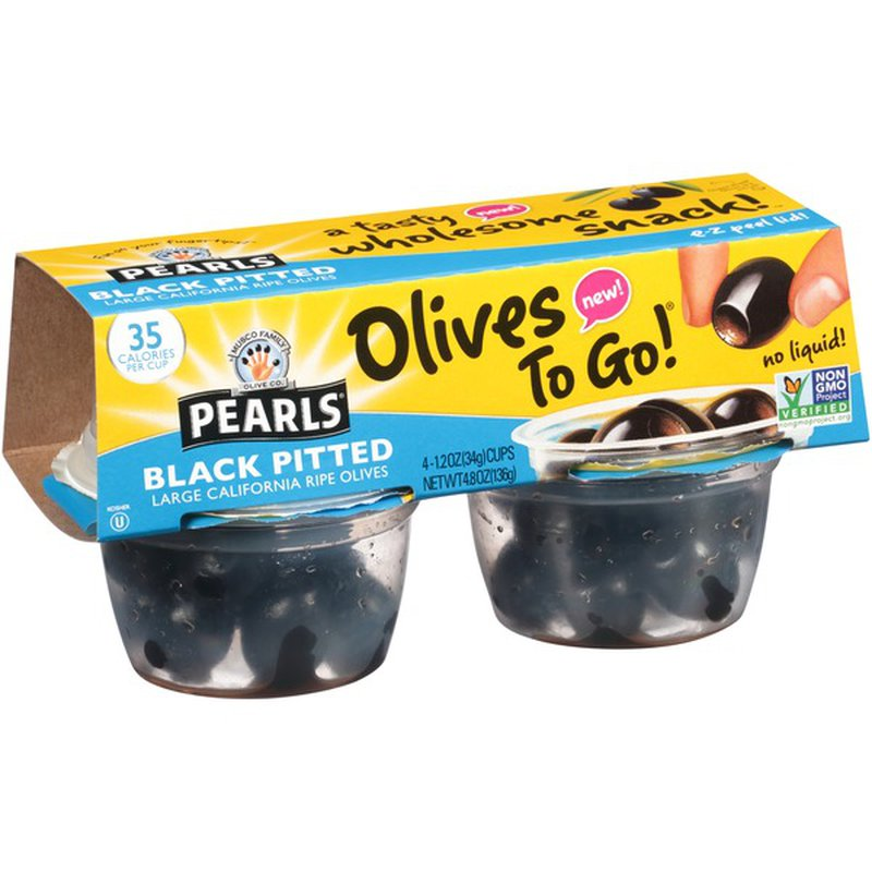Pearls Pitted Large Ripe Olives