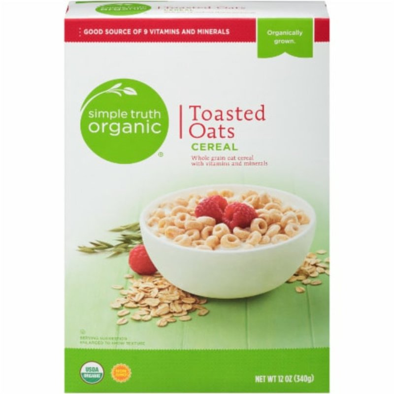 Simple Truth Organic Toasted Oats Cereal
