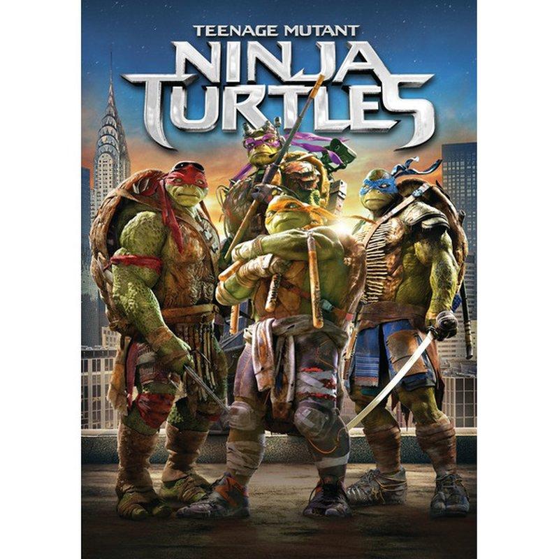 Paramount Farms Teenage Mutant Ninja Turtles DVD