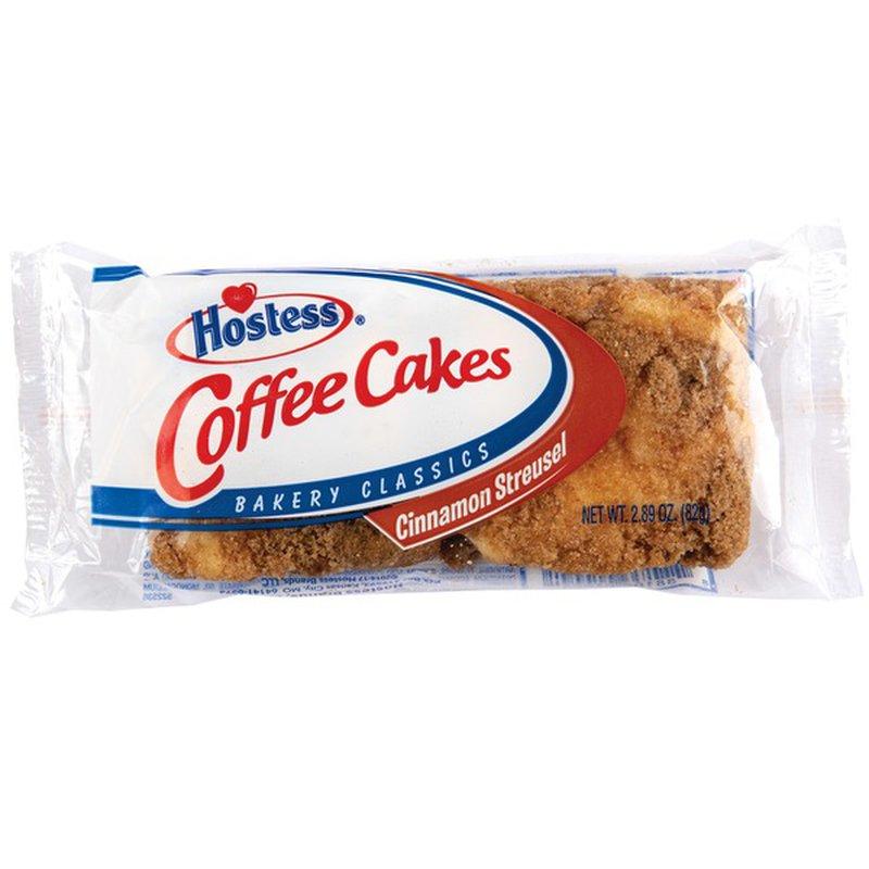 Hostess Coffee Cakes Single Serve 2 89 Oz Instacart