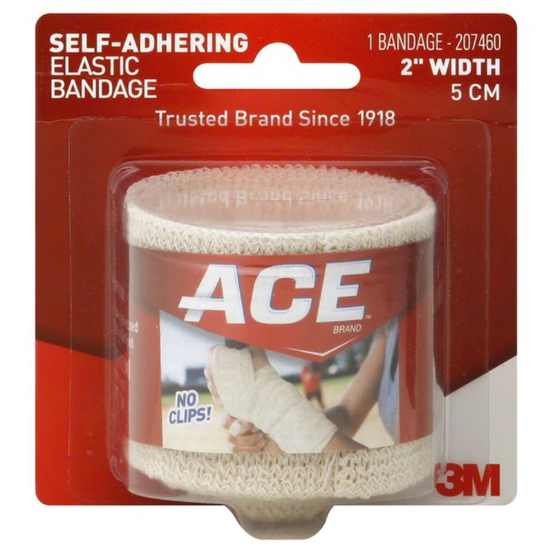 Ace Elastic Bandage Self Adhering 2 Inch Width 1 Each From Cvs